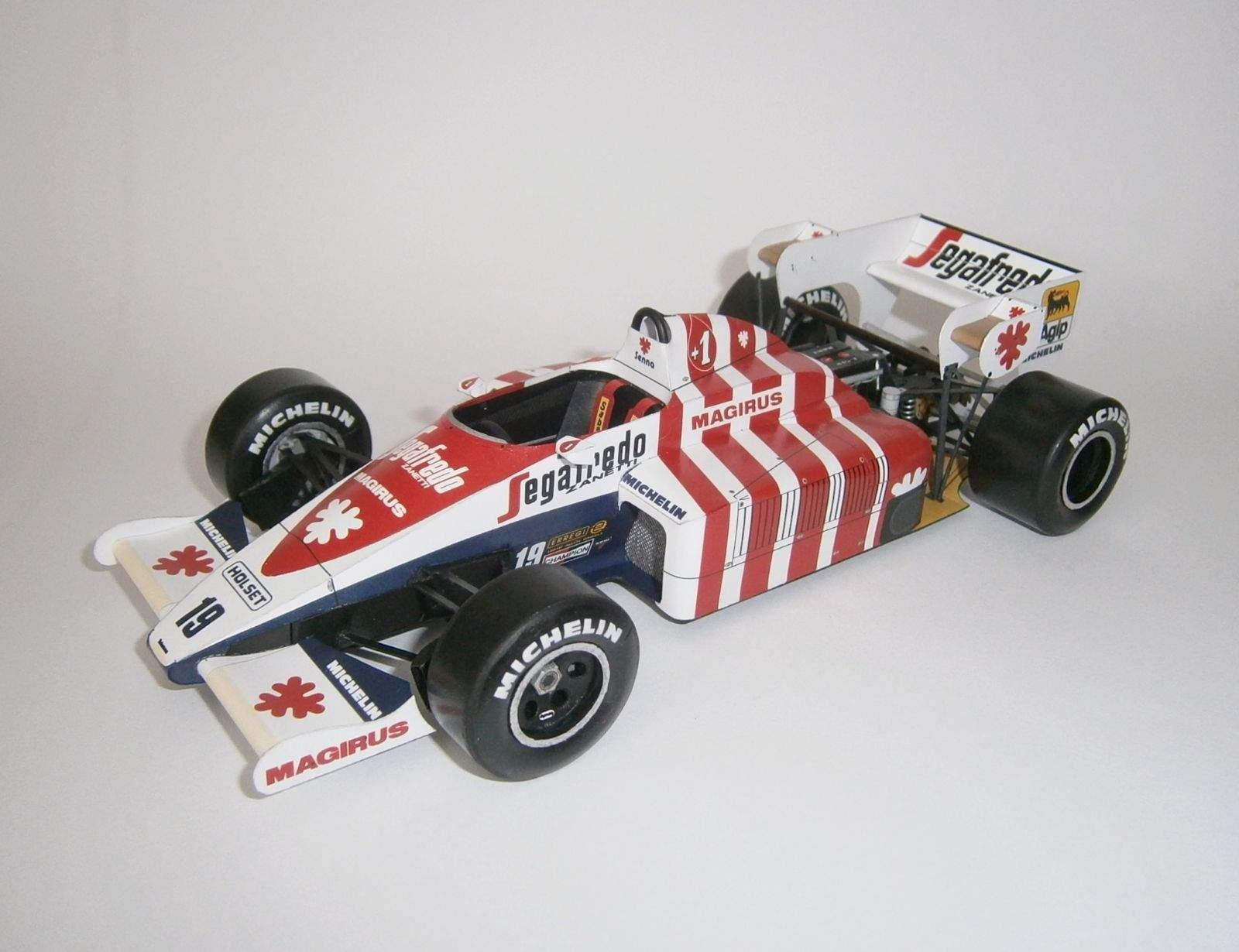 Toleman TG184 - A.Senna, GP Portugal 1984