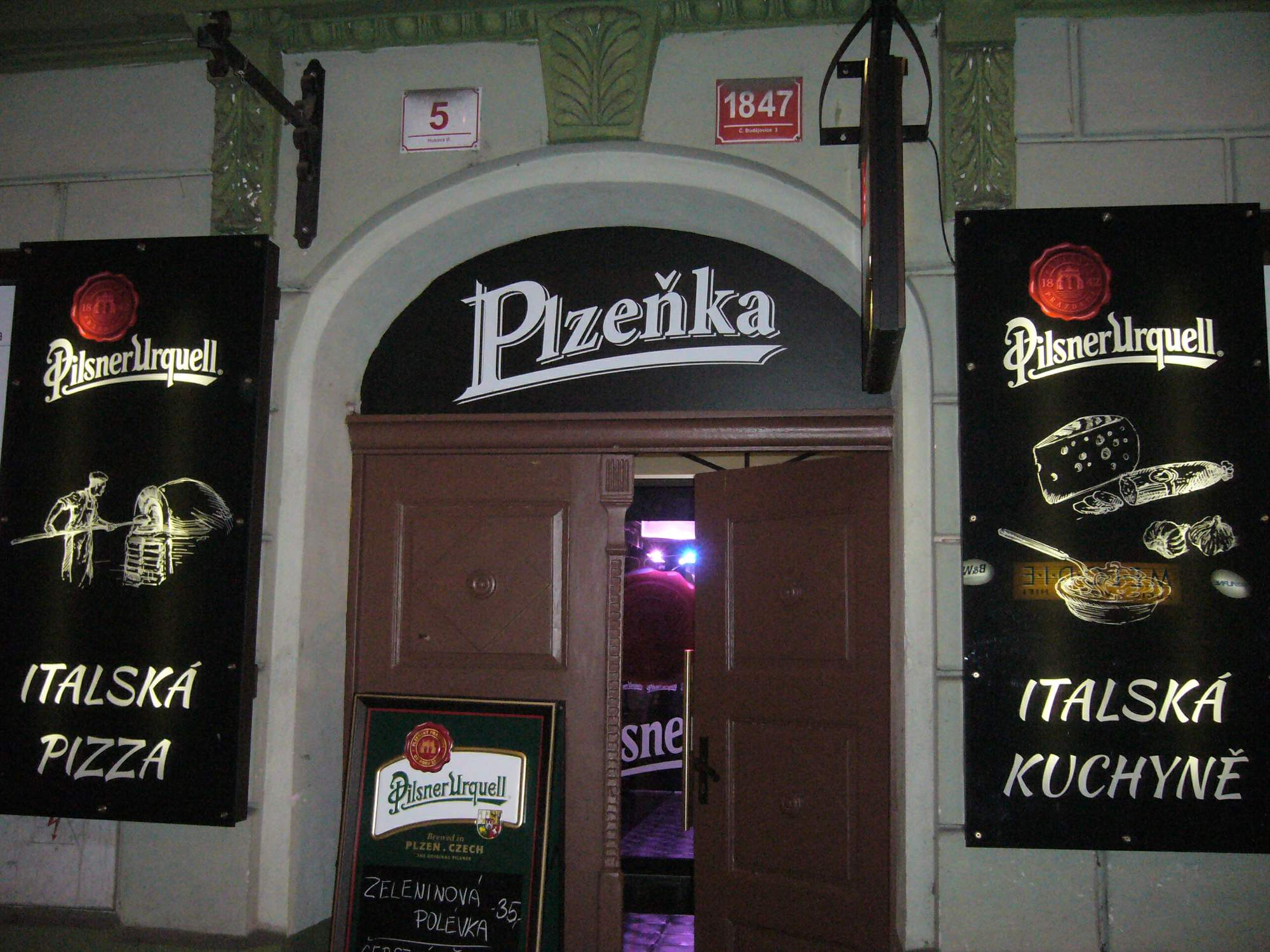 Plzeňka české budějovice