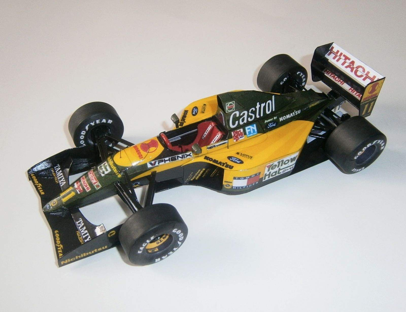 Lotus 107A - M.Hakkinen, GP Japan 1992