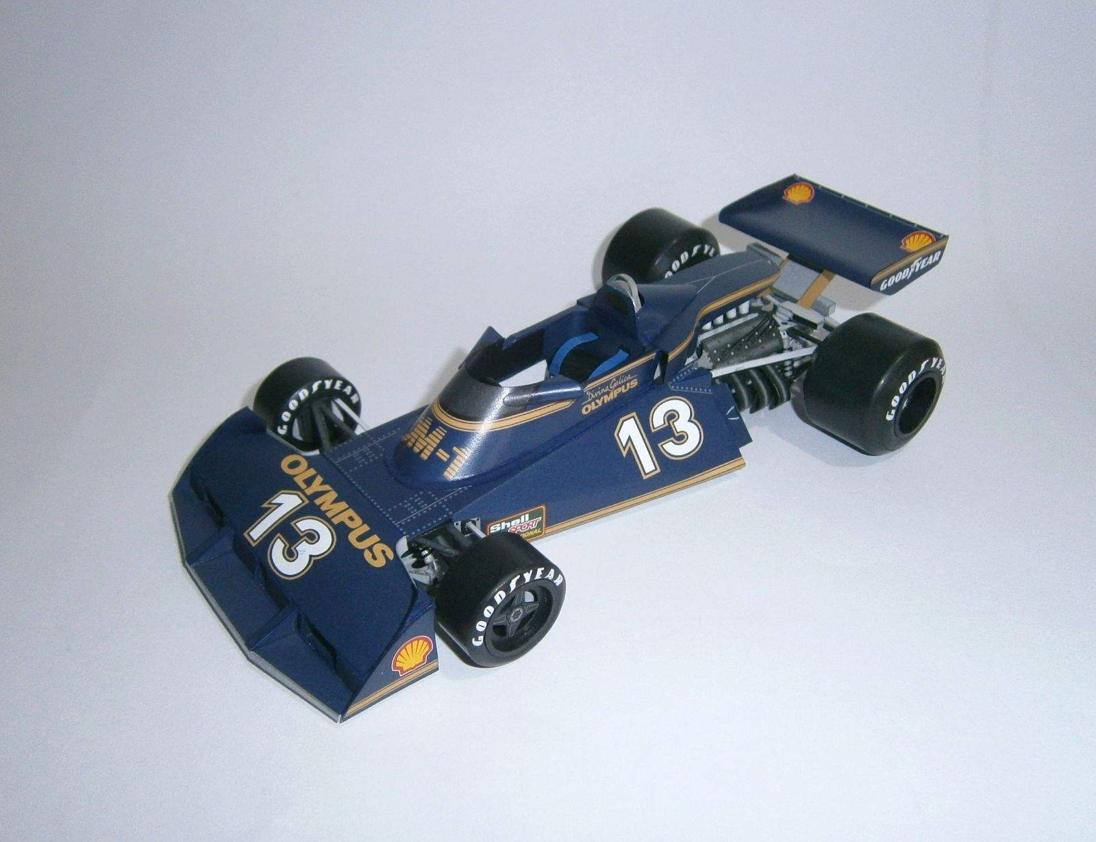 Surtees TS19 Ford - D.Galica, Shellsport 1977