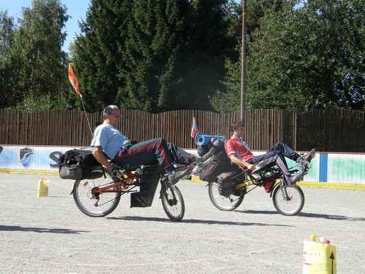 pomalá jízda - Jerguš a Karloss