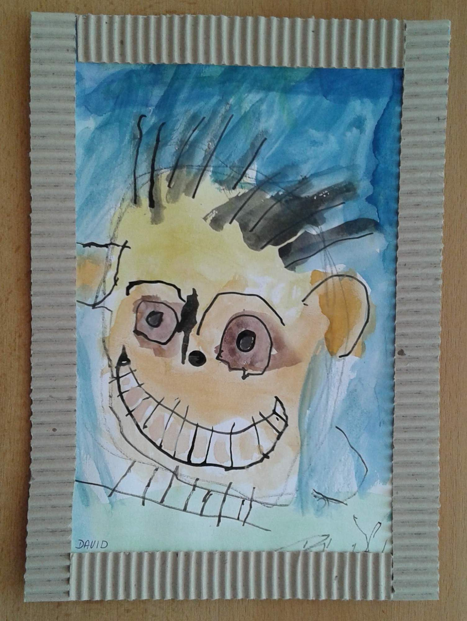 Moje Maminka Kolorovana Kresba Tusi Zabickykv Album Na Rajceti