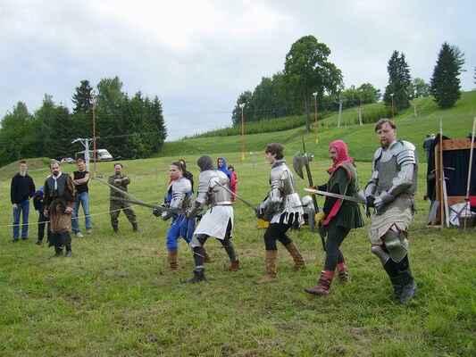 utok0604 - odpolední program obstarali Flamberští rytíři ze Žďáru