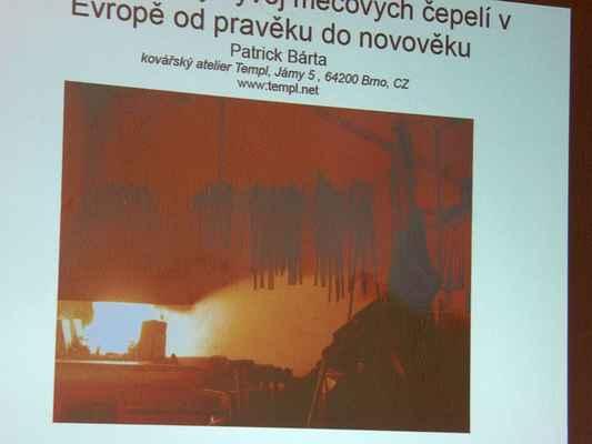 4f865cdd3cf Pohřbená historie. Vývoj mečů od pravěku po novověk. Muzeum Boskovicka 20.  března 2012. 0