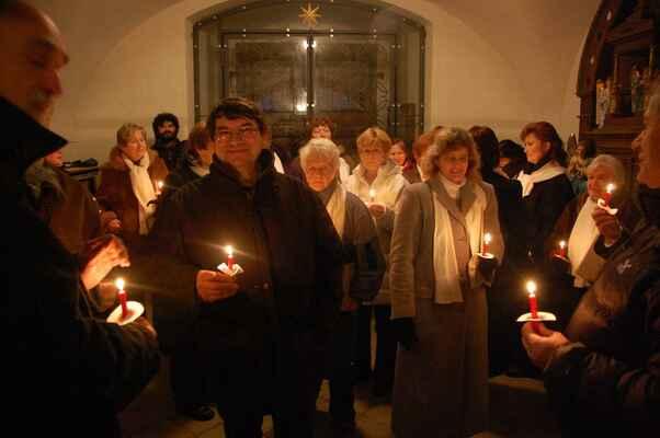Vánoční koncert v Libuni