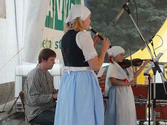 Živá muzika Borověnky.