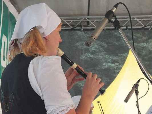 Alena Stloukalová, zobcová flétna.