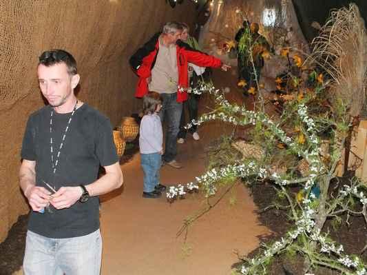 V prvním poschodí levé haly je hlavní část expozice pro děti ze zahrádky do pohádky.