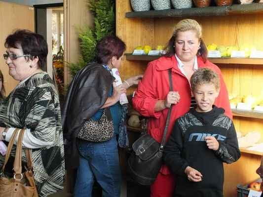 Návštěvníci výstavy.