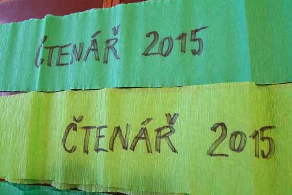 Příprava pasování prvňáčků na čtenáře 2015 - šerpy