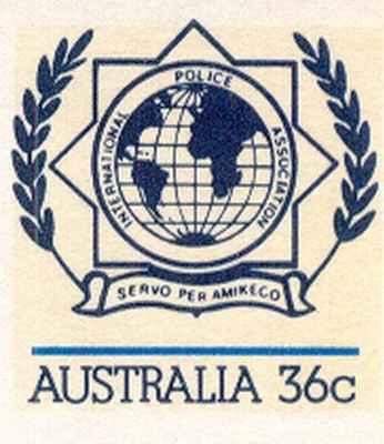 Aŭstralio 1986 presita sur koverto