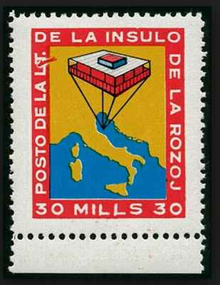 Insulo de la rozoj (apud Italio), 1968