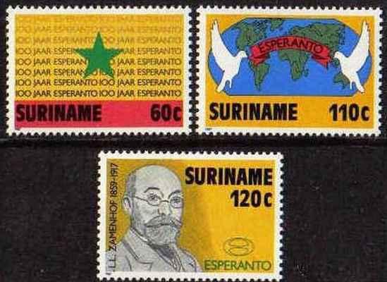 Surinamo 1987