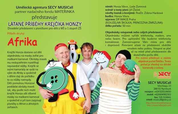 Látané příběhy Krejčíka Honzy AFRIKA - Látané příběhy Krejčíka Honzy AFRIKA www.krejcikhonza.cz