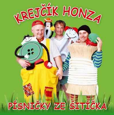 Krejčík Honza CD Písničky ze šitíčka - www.krejcikhonza.cz