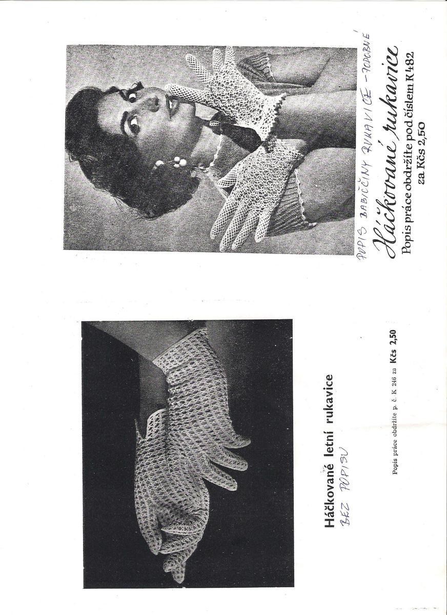 ab9cf5e1afd Háčkované rukavičky pro nevěsty – hluzdionv – album na Rajčeti