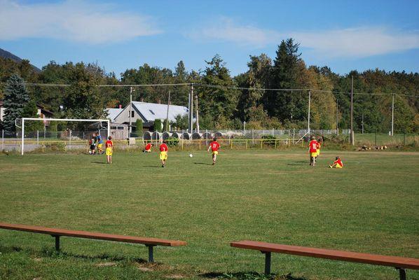 Žáci a rodiče, fotbal podzimu na Bystrém, sobota 1. 10. 2011